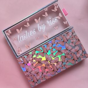 Pink Butterfly Drawer Box