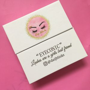 custom eyelash packaging boxes white lash cases wholesale with private label