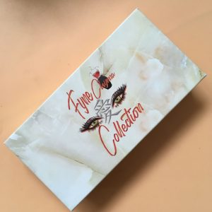 Wholesale Custom White Marble Lash Packages Boxes With LOGO